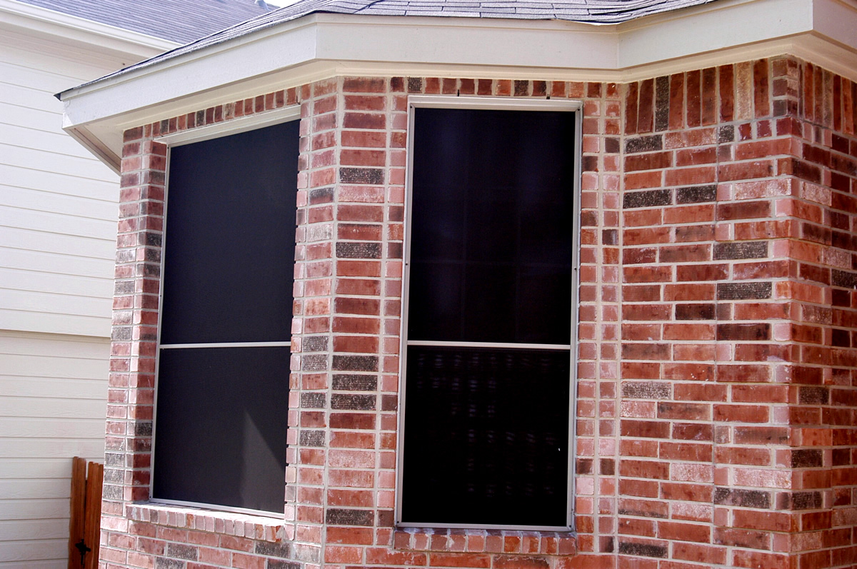 Exterior window shades total blinds and window tinting - Exterior window tint for homes ...